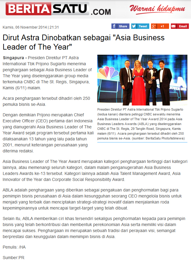 Media | Asia Business Leaders Awards